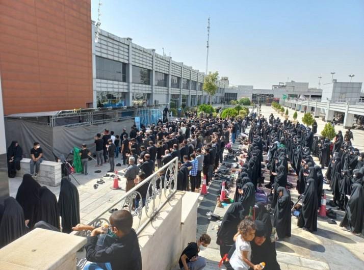 برپایی موکب فروشگاه نجم خاورمیانه اربعین حسینی